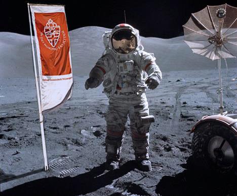 moon landing color - photo #26